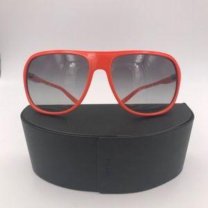 PRADA SPR 15M Orange Sunglasses